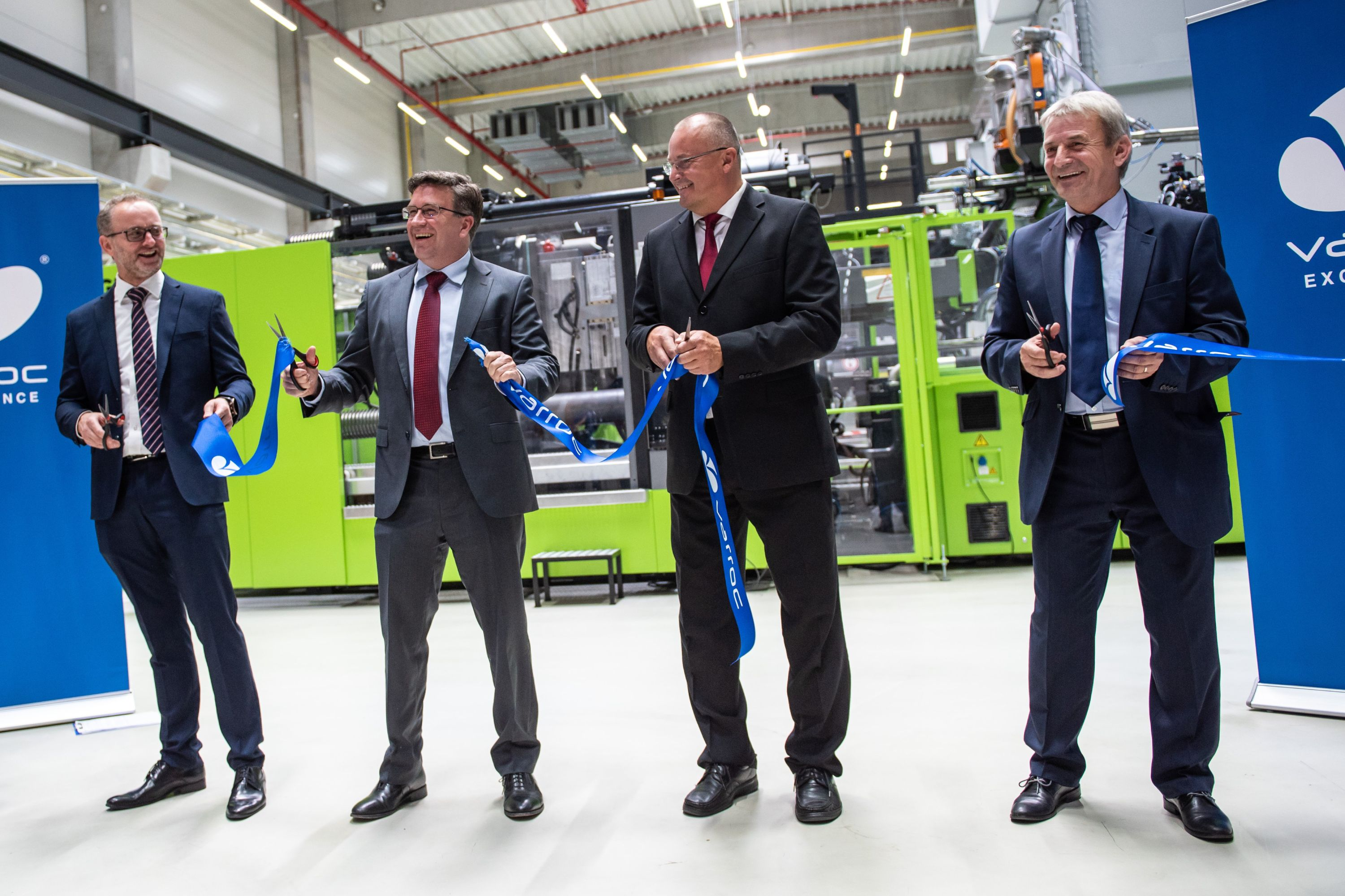 Rychvald Expansion ribbon cutting
