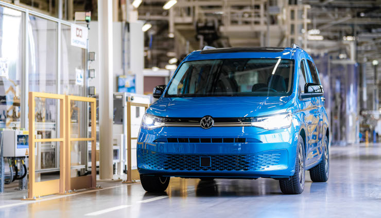 Volkswagen Poznań: Expansion of plant for new Caddy on home straight